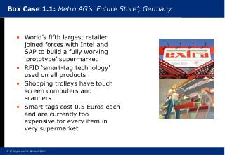 Box Case 1.1: Metro AG s  Future Store , Germany