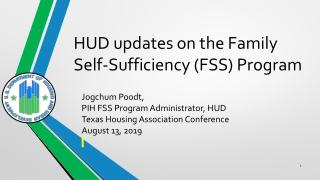 Statutory Basis of HUD Notice