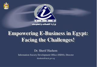 The Digital Divide  CIT in Egypt E-commerce in Egypt Cyber Laws The Road Ahead