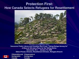 Protection First: How Canada Selects Refugees for Resettlement