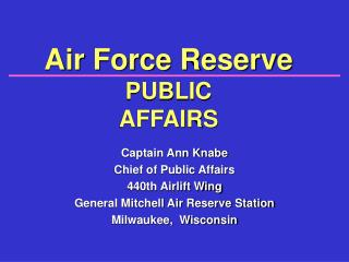 What is Public Affairs