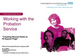Working with the Probation Service