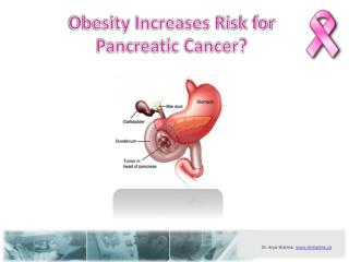 Obesity Increases Risk for Pancreatic Cancer?