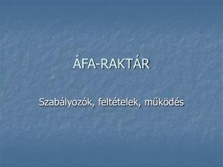 FA-RAKT R