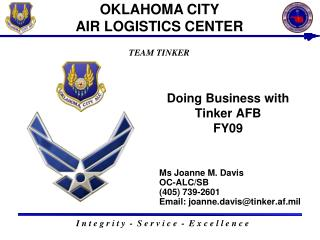Doing Business with Tinker AFB FY09