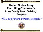 United States Army Recruiting Command s