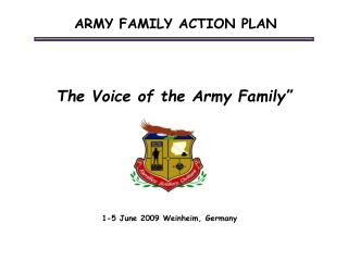 The Voice of the Army Family