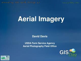 Aerial Imagery Platforms