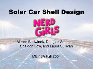 Solar Car Shell Design