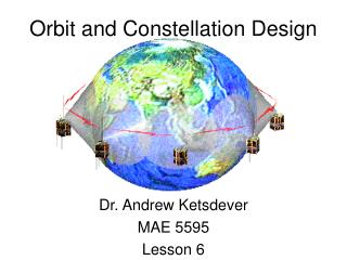 Orbit and Constellation Design