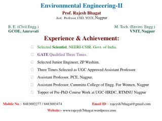 Characteristics of Wastewater Treatment Sludge