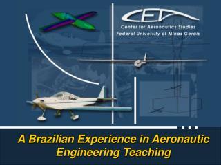 A Brazilian Experience in Aeronautic  Engineering Teaching