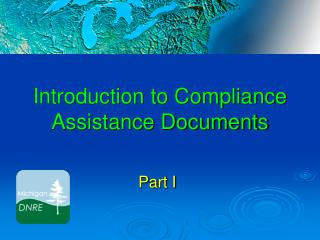 Introduction to Compliance Assistance Documents