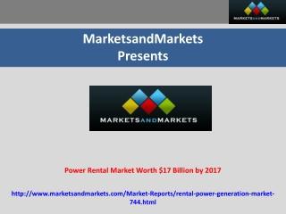 Power Rental Market (2012 – 2017)