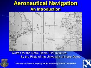 Aeronautical Navigation