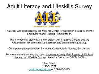 Adult Literacy and Lifeskills Survey