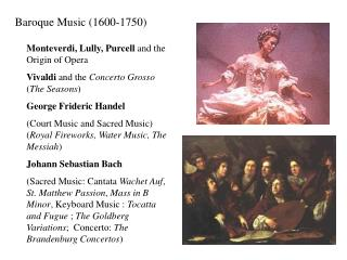 Baroque Music 1600-1750