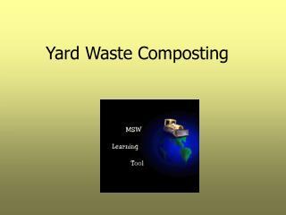 Yard Waste Composting