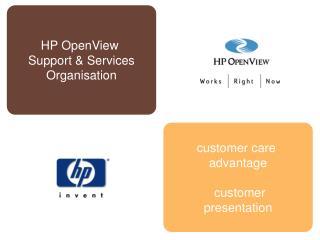 customer care advantage customer presentation
