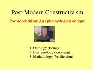 Post-Modern Constructivism