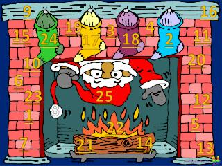 Christmas Advent Calendar 25 Days