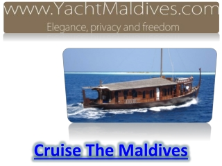 Cruise The Maldives