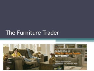 The Furniture Trader – Best Destination for Buy Home Office