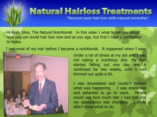 Hair Loss For Men That Want To Keep Their Hair