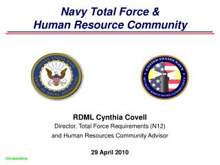 Navy Total Force  Human Resource Community