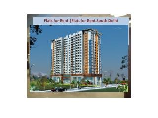Flats for Rent South Delhi