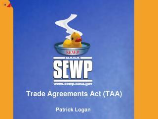 Trade Agreements Act TAA