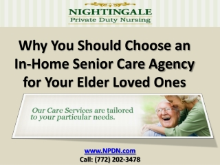 Your In-Home Senior Care Agency in Vero Beach FL