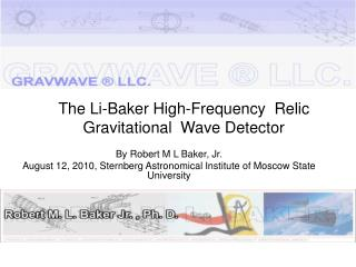 The Li-Baker High-Frequency  Relic Gravitational  Wave Detector