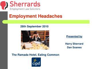 Employment Headaches
