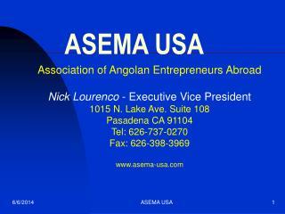 ASEMA USA