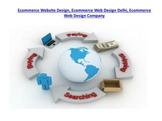 Ecommerce Web Design Delhi