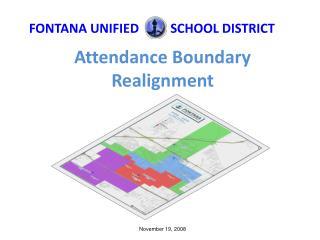 Attendance Boundary Realignment