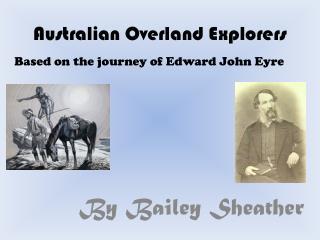 Australian Overland Explorers
