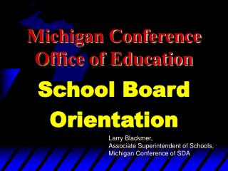 Michigan Conference Office of Education