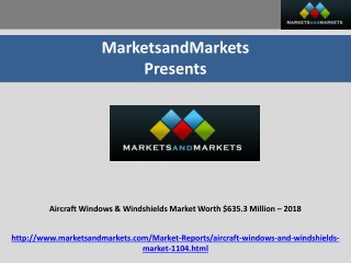 Aircraft Windows & Windshields Market