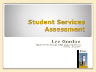 Student Services Assessment