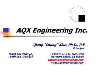 AQX Engineering Inc.
