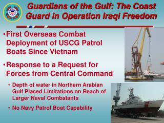 Guardians of the Gulf: The Coast Guard in Operation Iraqi Freedom