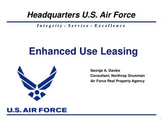 Enhanced Use Leasing