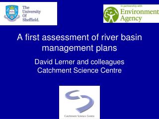 A first assessment of river basin management plans