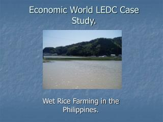 Economic World LEDC Case Study.