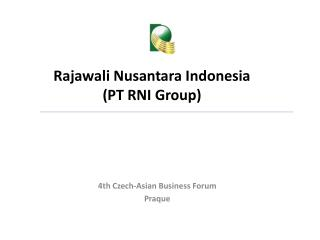 Rajawali Nusantara Indonesia PT RNI Group