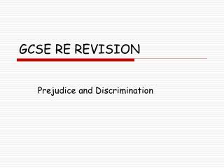 GCSE RE REVISION