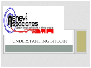 Abney Associates | Understanding Bitcoin