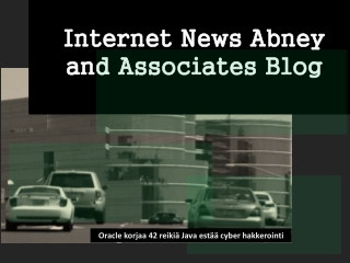 Internet News Abney and Associates Blog